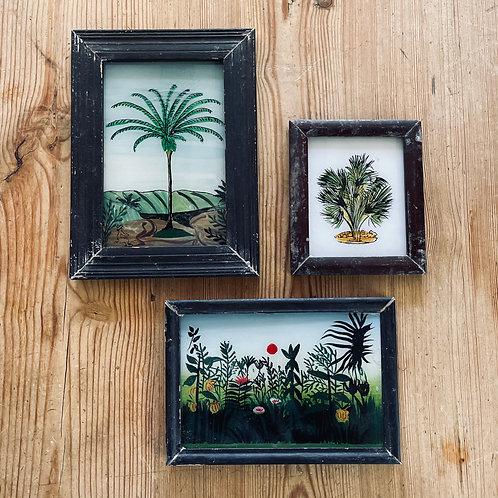 Tree Glass Paintings