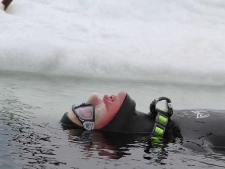 Фридайвинг на Белом море 1
