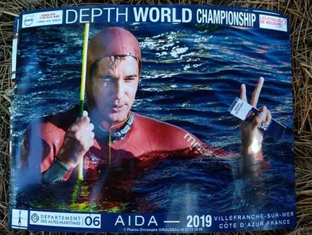Бронза в FIM (105 метров) на чемпионате мира в Ницце
