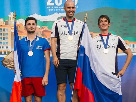 Серебро котиков в CWT 119 метров на чемпионате мира в Ницце