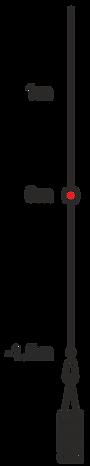 Схема троса для фридайвинга