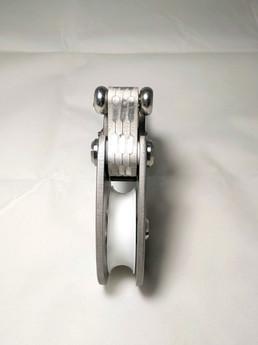Titanium pulley for freediving