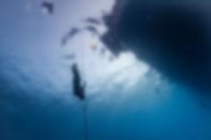 Ныряние в глубину без ласт во фридайвинге