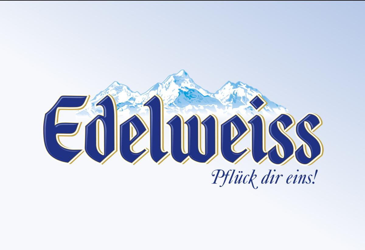 Edelweiss מצגת מעוצבת עבור Beer