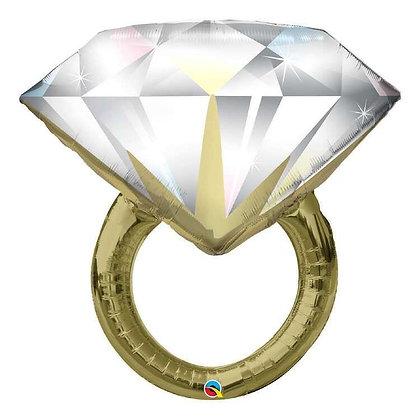 Diamond Wedding Ring Foil