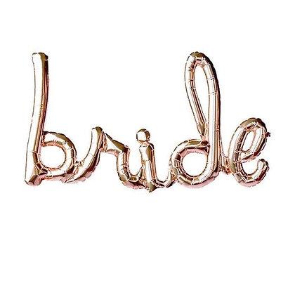 Bride Script Balloons