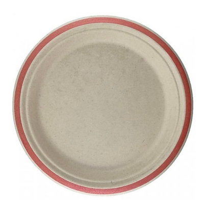 Sugarcane Lunch Plate 180mm 10pk