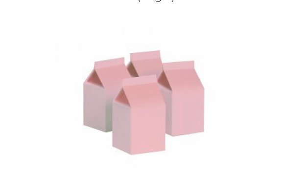 Paper Party Milk Box 10pk