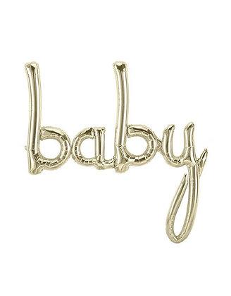 Baby Script Balloons