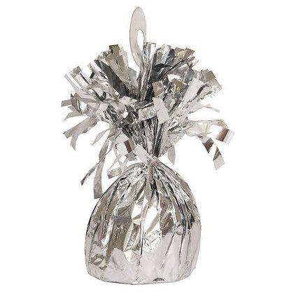 Metallic Silver Balloon Weight