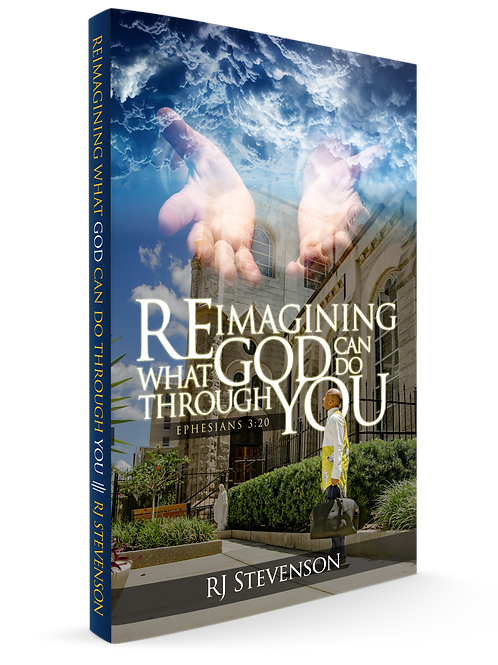 Book - Reimagining What God Can Do Through You | Pre-Order