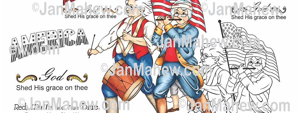 Patriotic Girlfriends