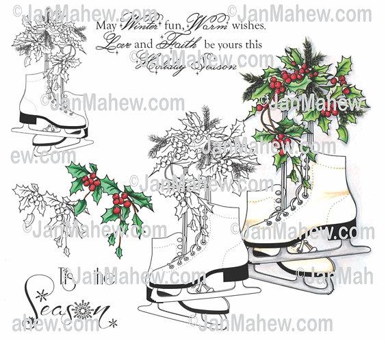 Christmas Skates