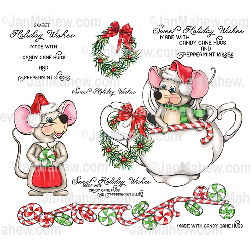 Peppermint Mice