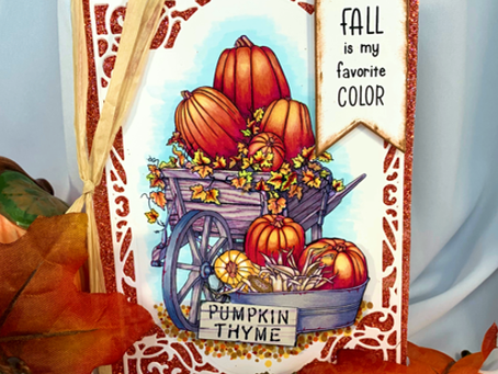 PUMPKIN THYME!  A NEW Digital Stamp Set
