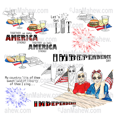 Independence Day Friends
