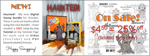 Halloween Digital Bundle On Sale!