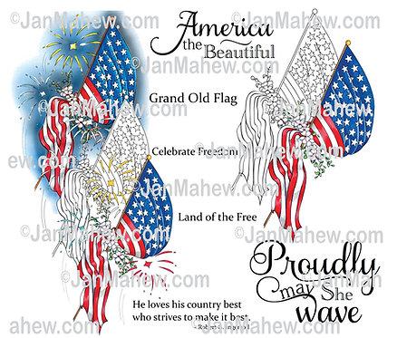 Proudly Patriotic