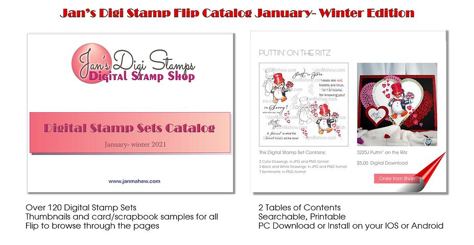 Flip Catalog Landing Page Ad January 202