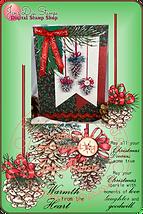 Card Pin Combo 3205J Pinecone Ornaments