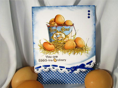 Eggs-tra Ordinary Acts Digital Stamp Set