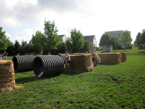 Hay and Tubes