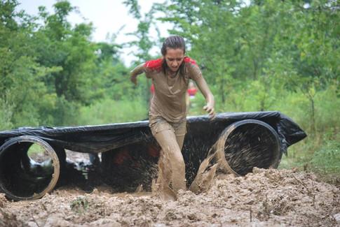 A Muddy Runner
