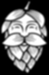 Hoppin Vines_Logo_Hop Man_Black.png
