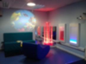 Sensory Room Design Install with Sensory Equipment