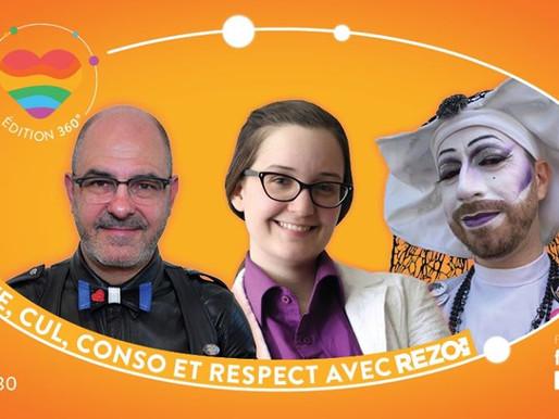 Fierté 360, virage virtuel de Fierté Montréal ❤️🧡💛💚💙💜🖤🤎