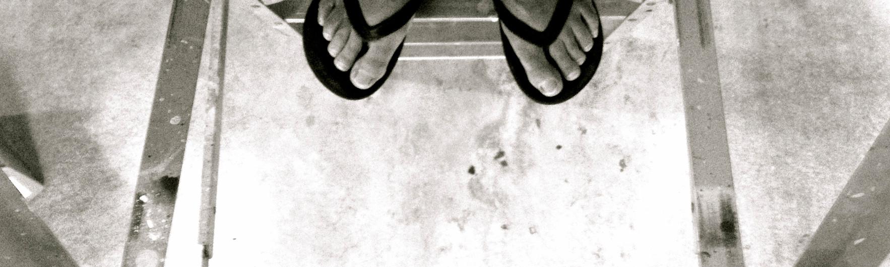 Whos feet? in BW.jpg