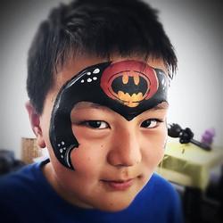 Another great Batman #batman #fxmakeup #facepaint #facepainter #facepainting #facepaintingla  #losan