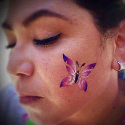 #airbrushtattoo #temporarytattoos #gemtattoo #bodyart #facepaint #facepainting #facepainter #facepai