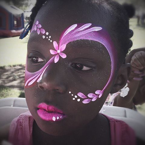 Proper face painters should only use FDA compliant products that are save and won't cause a reaction