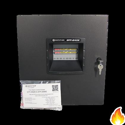 Notifier / 2 Zone Fire Alarm Control Panel, 220/240VAC / SFP-2402E