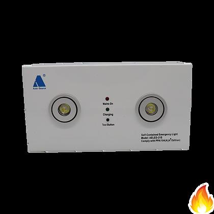 AELED-21S/ 2x1W LED 明裝孖眼燈