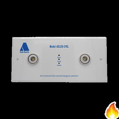 AELED-21RL/ 360mm長2x1W LED 暗藏式孖眼燈