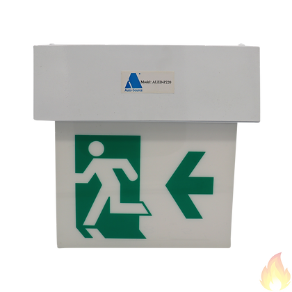Auto-Source / Exit Sign Plate 出路吊牌 260x100x50mm / ALED-P220