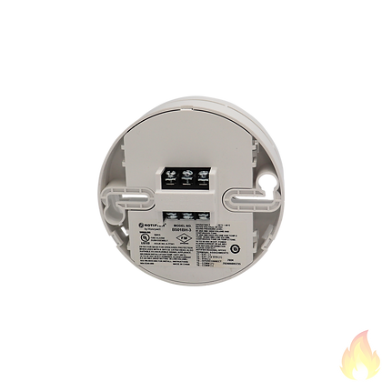 Notifier / Sounder Base without Flange, Assembly (White) / B501BH-3/W