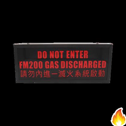 Fire2 / FM200 Do Not Enter Flashing Unit / FF-WS-001B