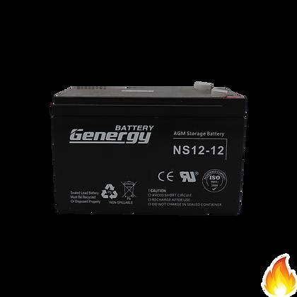 General / NS Series Sealed Lead Acid Battery 12V 12AH / NS12-12