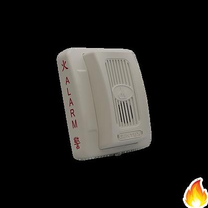 Gentex / GE Series Horn 24Vdc White / GEH-24W