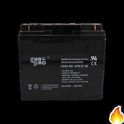 ExaPro / VRLA Sealed Lead Acid Battery 12V 18AH / EPB12-18
