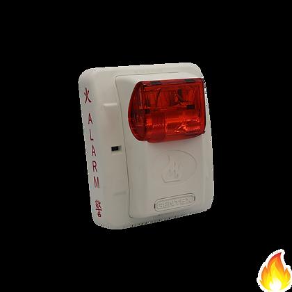 Gentex / GE Series Selectable Strobe 24Vdc Wall Mount White / GESR-24WW