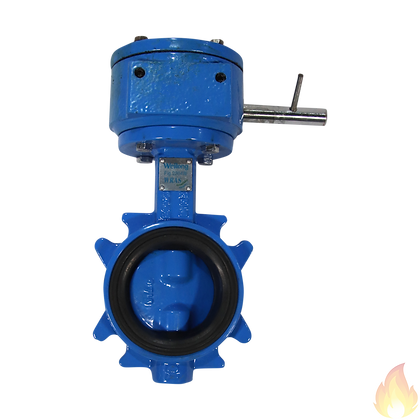 Weilong / Wafer Butterfly Valve Fresh Water DN65 / Fig:2304-WRAS