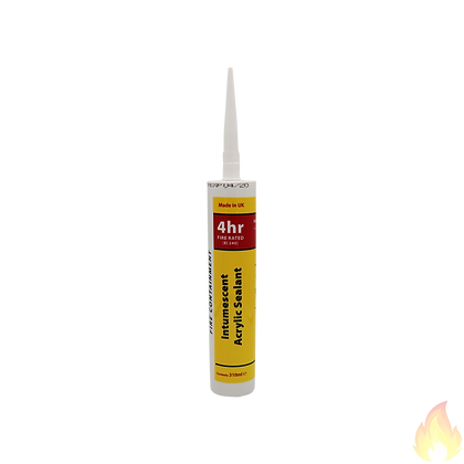 Pyroplex / Fire Rated Acrylic Sealant-White 4hrs 310ml / 2WT310PY