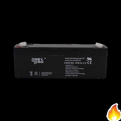 ExaPro / VRLA Sealed Lead Acid Battery 12V 2.3AH / EPB12-2.3
