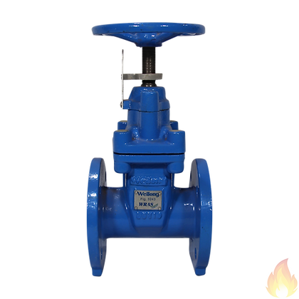 Weilong / Gate Valve Hand Wheel with Position Indicator DN65 / Fig. 3243-WRAS