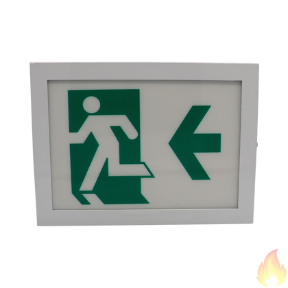 Auto-Source / Emergency LED Exit Sign Box 250x188x60mm / ALED-B220