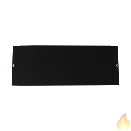 Notifier /  Dress Panel Blank; Painted Black / DP-1B